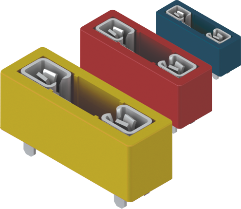 Colour-Coded Auto Blade Fuse Holders