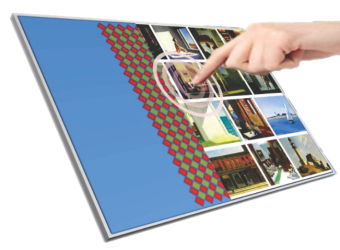 Industrial LCDs with Integrated On-Cell Touch Technology