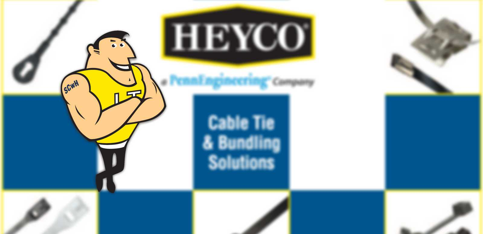Heyco Cable Ties Background