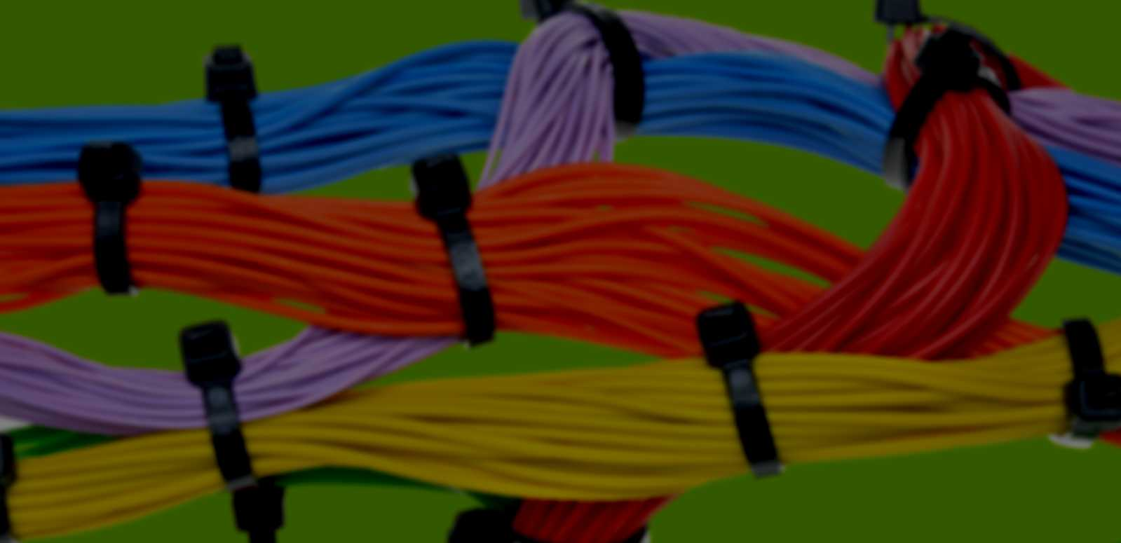 Cable Tie Background