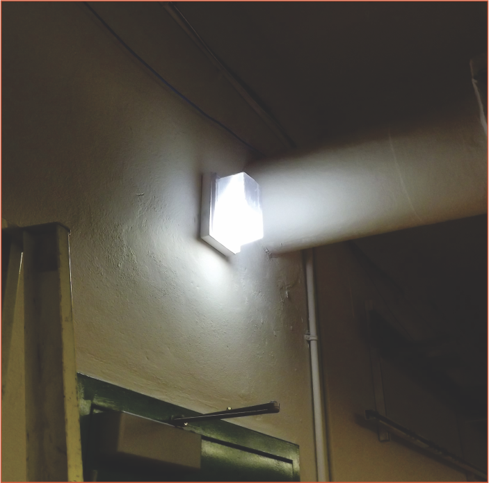 Emergency Powered Lighting using VCC LED Lamps