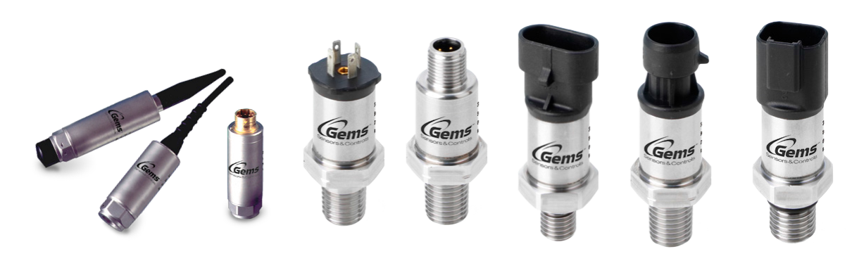 Gems Pressure Sensors, Sputtered Thin Film