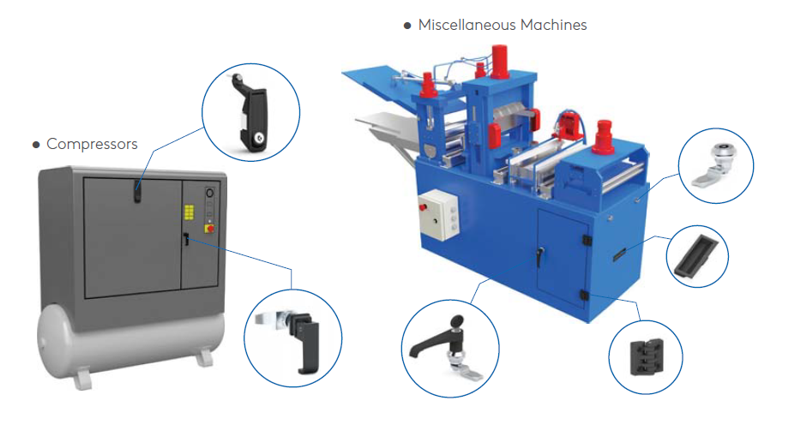 Mesan Industrial Machinery Applications