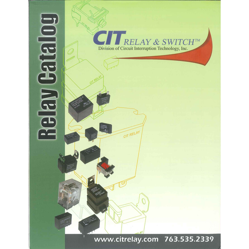 CIT RELAY & SWITCHES - Relay Catalog