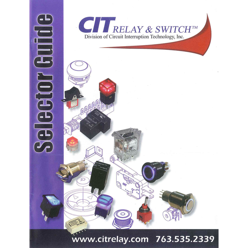 CIT RELAY & SWITCHES - Selector Guide