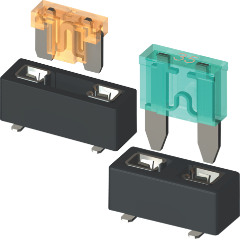 "UL Recognized ""Auto"" Blade Fuse Holders"