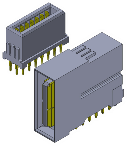 High Current Power Connectors