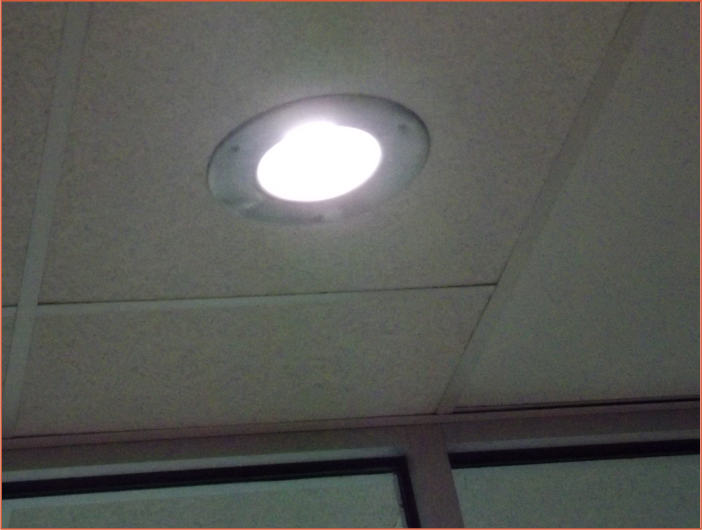 Fixture with VCC LED Lamp