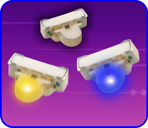 Dome Lens Right-Angle SMD LED